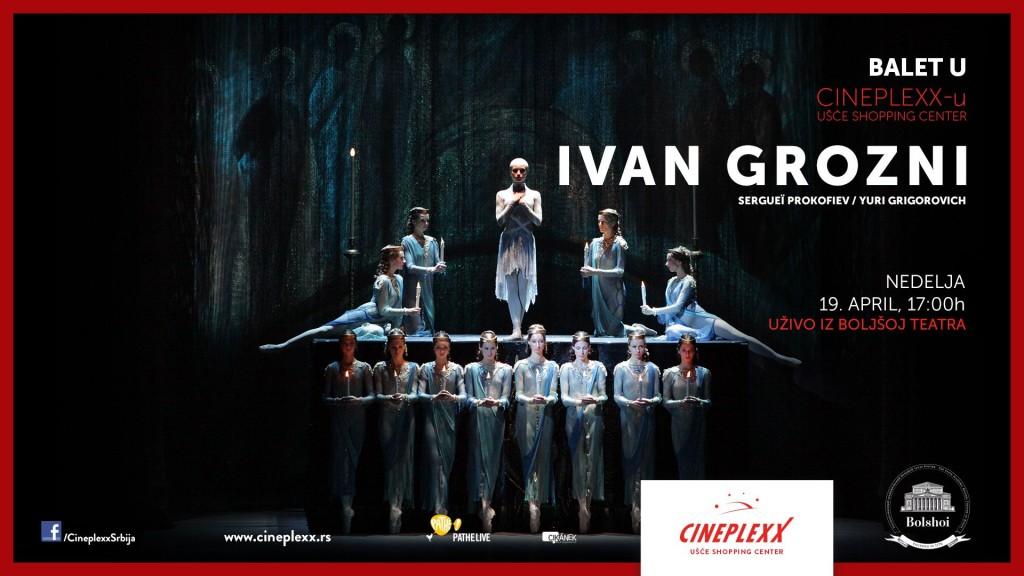 Ivan Grozni balet Cineplexx