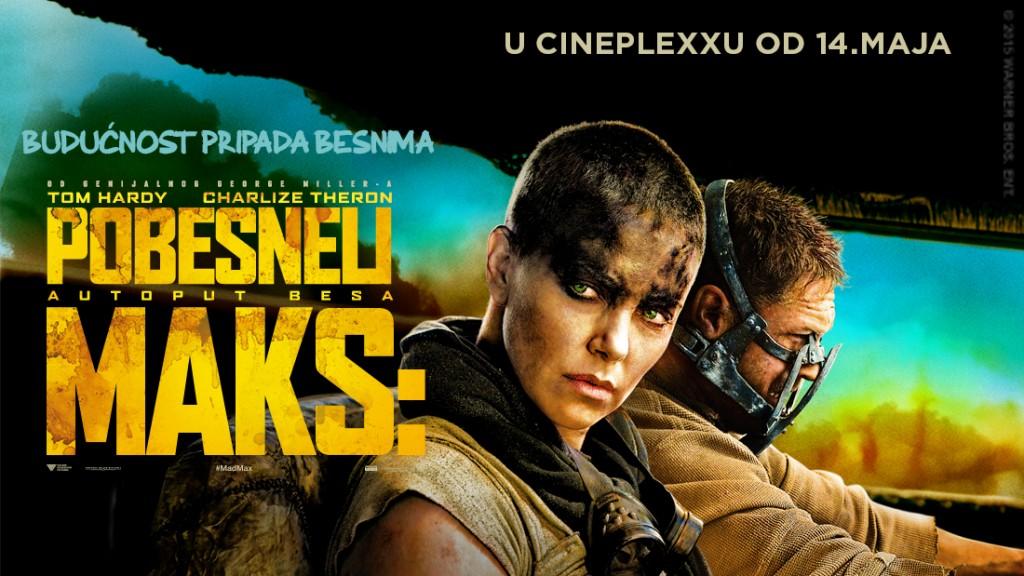 Pobesneli Maks,  Cineplexx bioskop