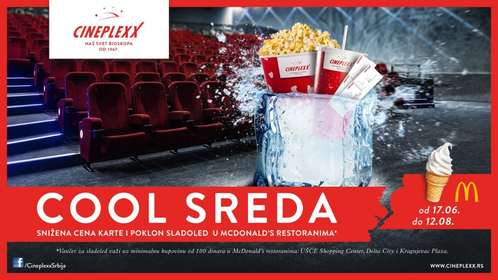 Cineplexx Cool sreda