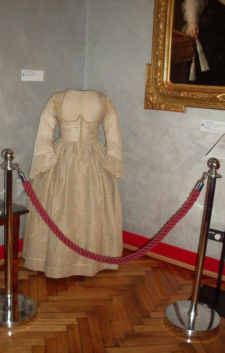 Najstarija sačuvana venčanica,pripadala je Jeleni Grujić. / Foto: Suzana Janković.