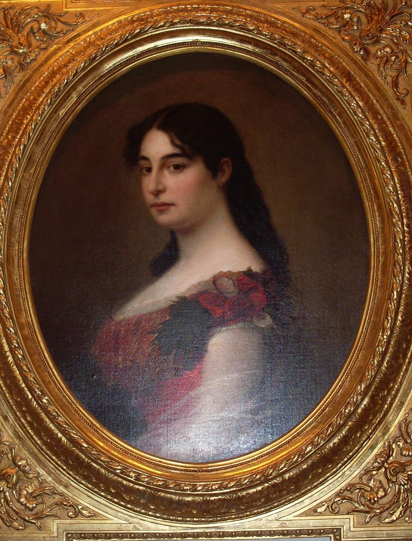 Portret kraljice Natalije. / Foto: Suzana Janković