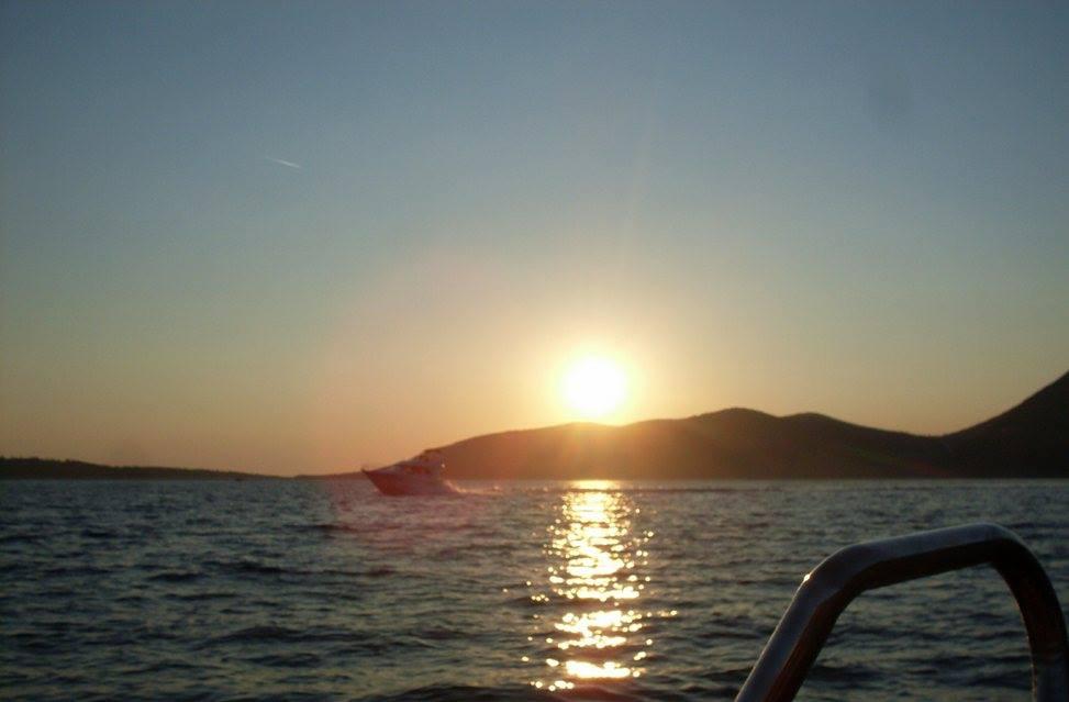 Zalazak Sunca pri povratku. Foto: Suzana Janković