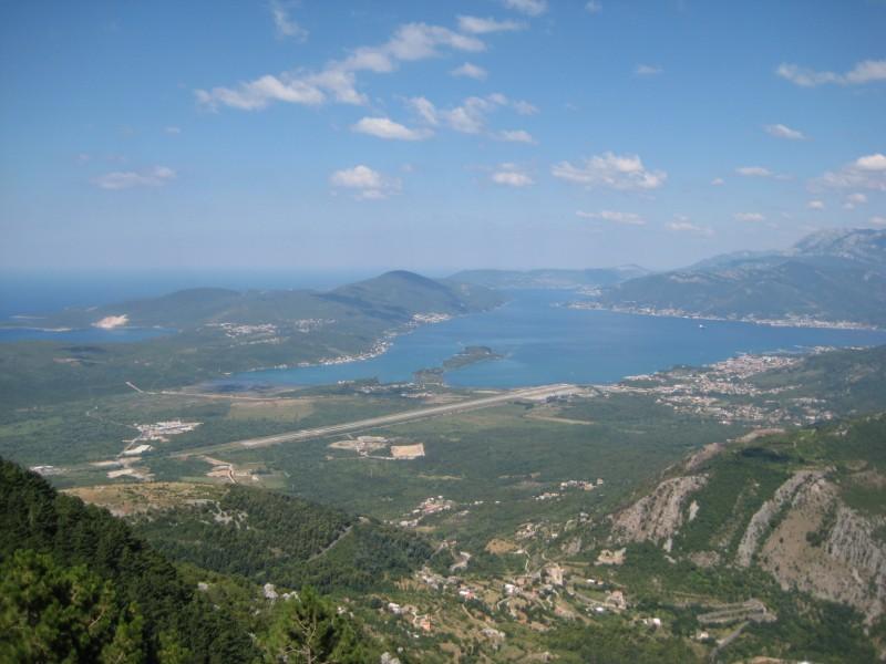 Pogled sa Lovćena. Izvor: photopin.com