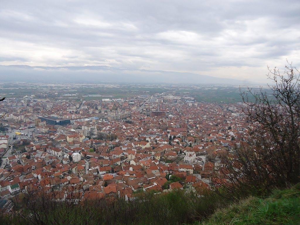 Strumica, pogled sa tvrđave. Autor: Suzana Janković