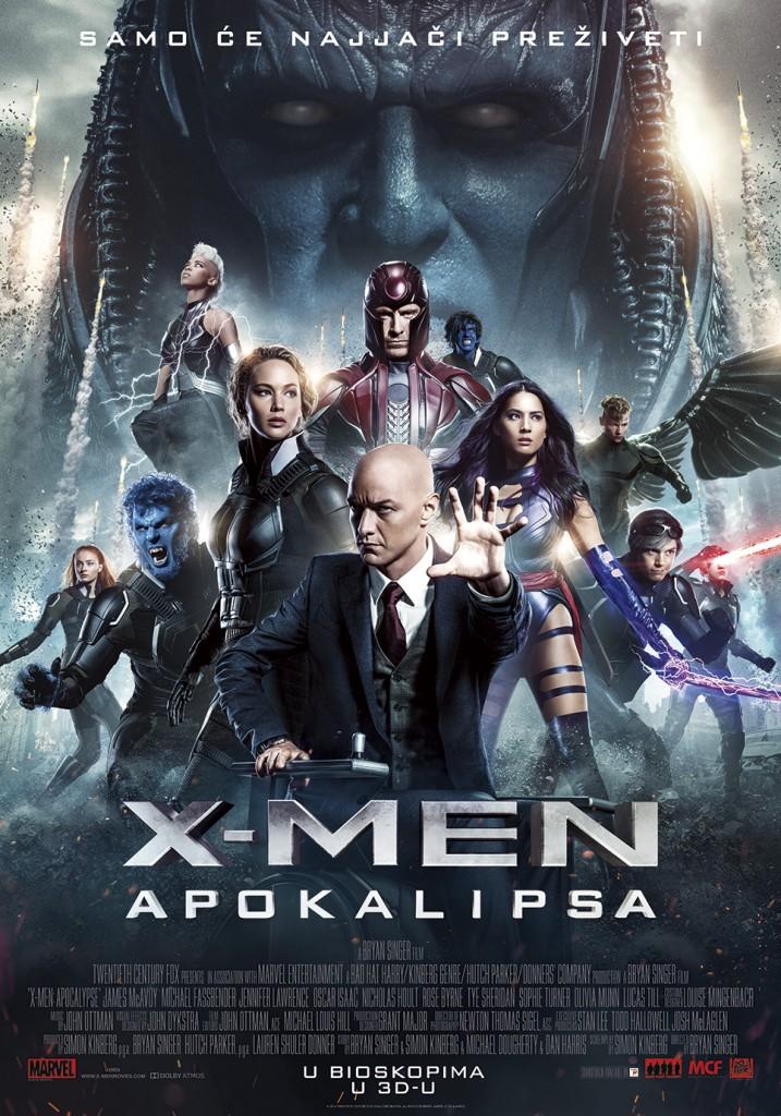 Xmen Apokalispa poster
