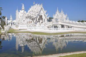 Budistički hram na Tajlandu,Wat Rong Khun. Izvor: pixabay.com