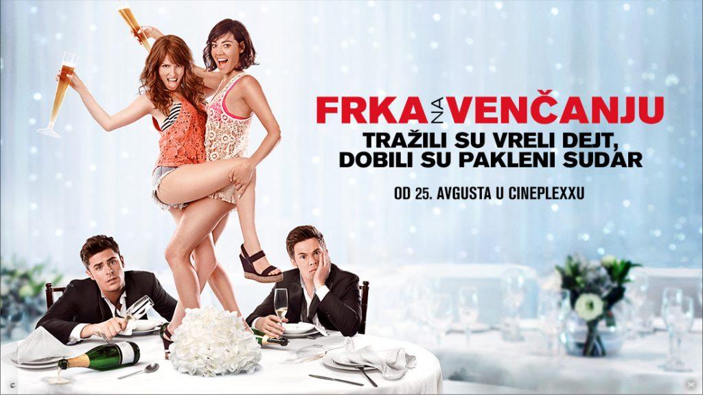 Frka na venčanju, Cineplexx