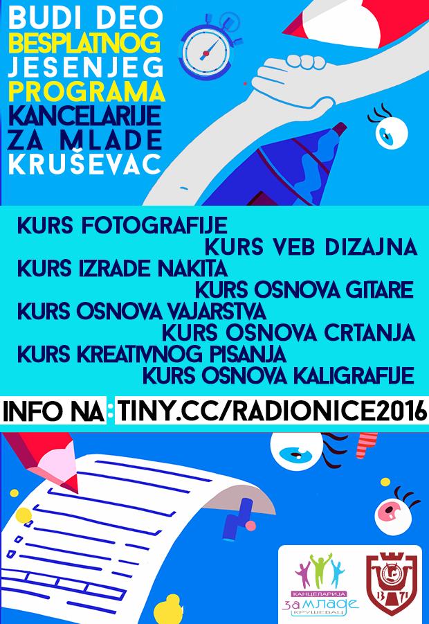 Kancelarije za mlade Kruševac