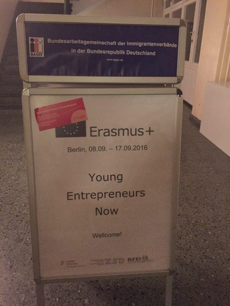 Erazmus +, Berlin projekat