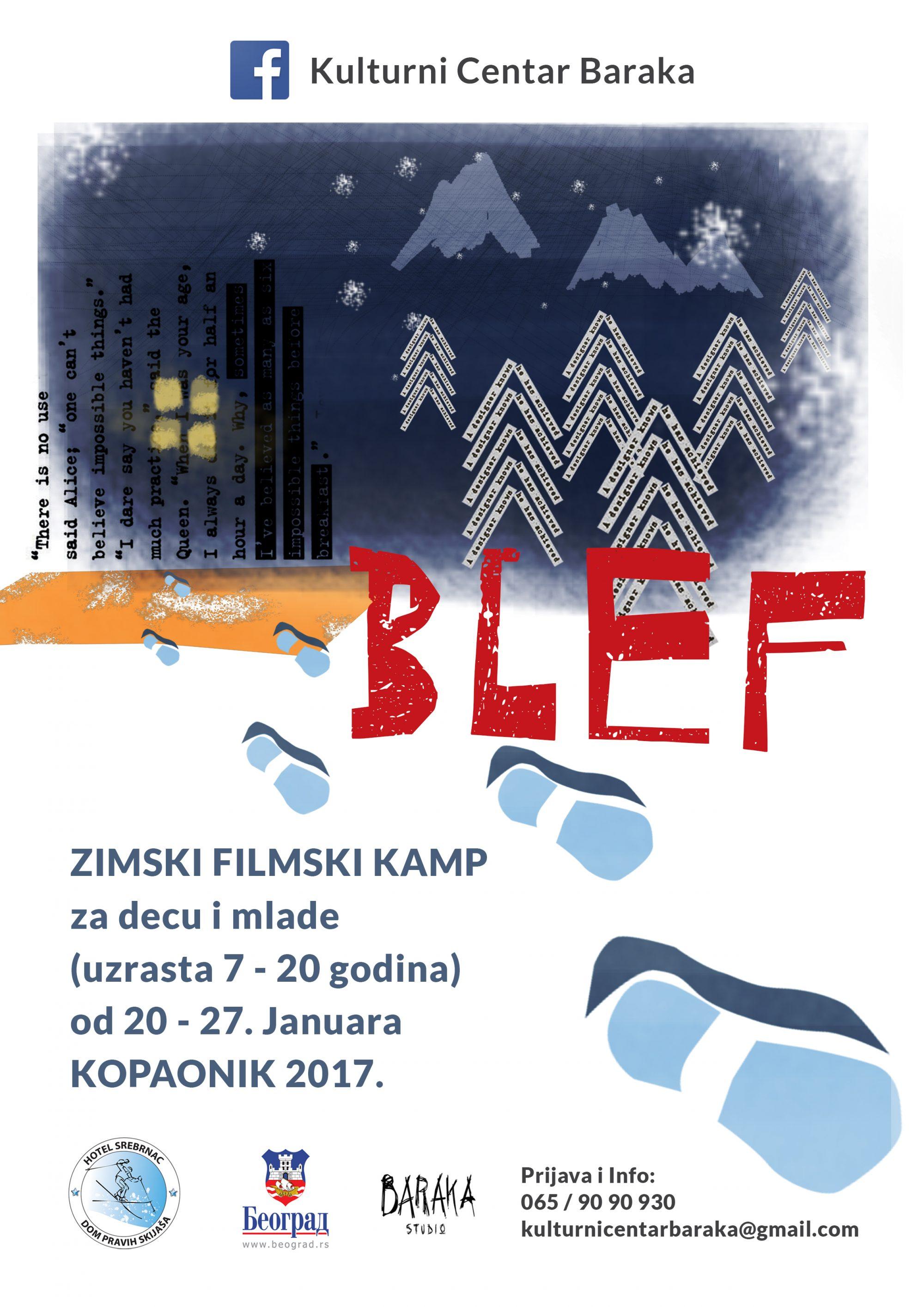 Blef zimski filmski kamp