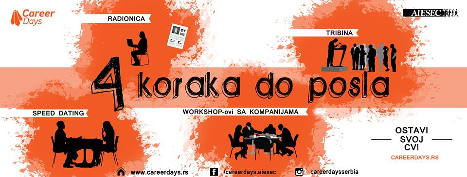 career days 2017 4 koraka do posla