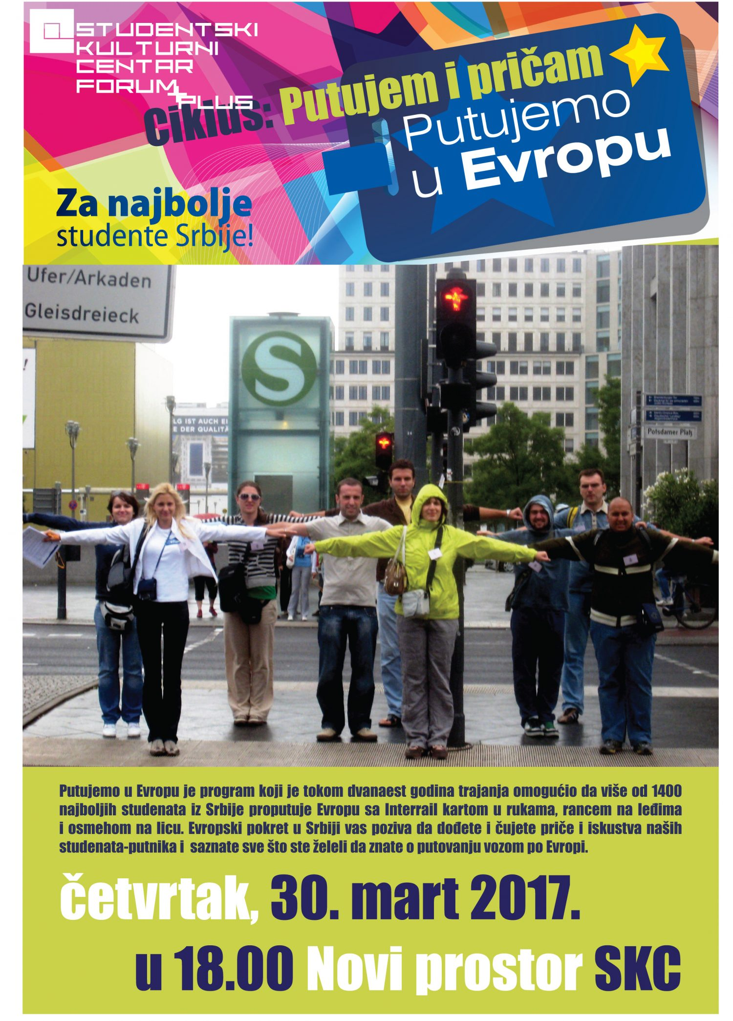 Putujemo u Evropu