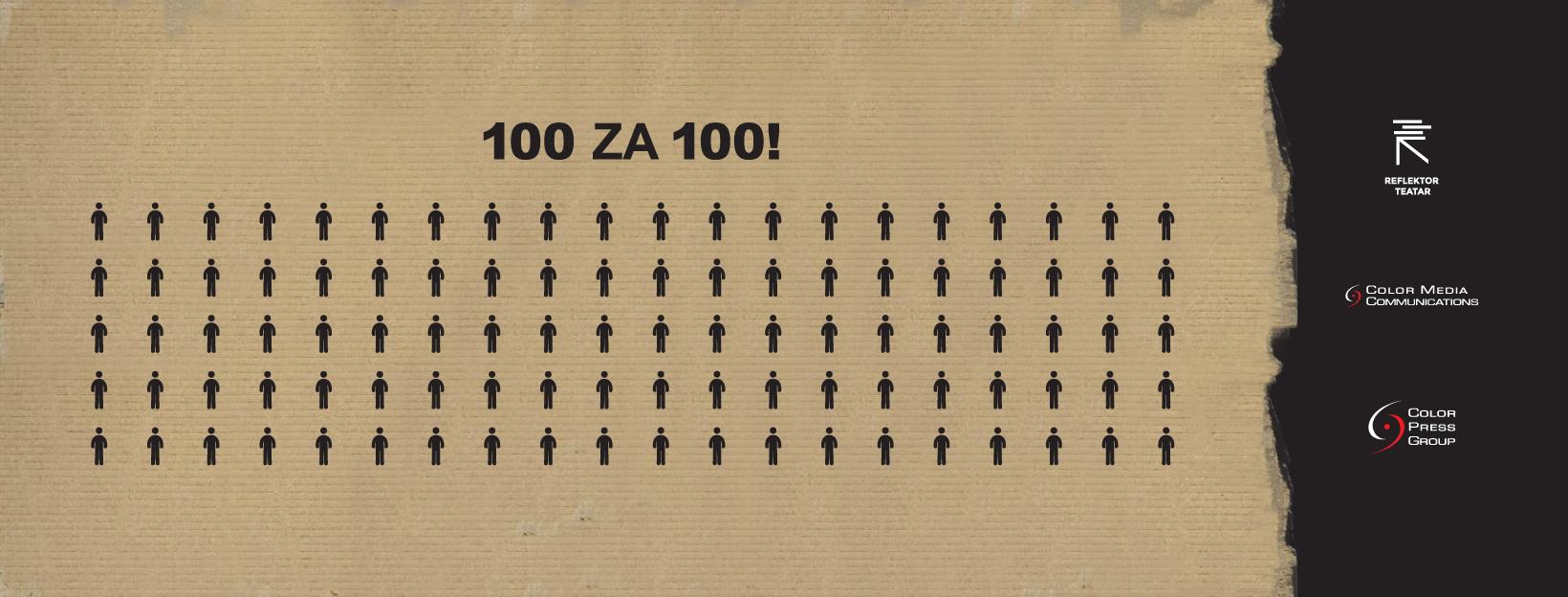 100 za 100