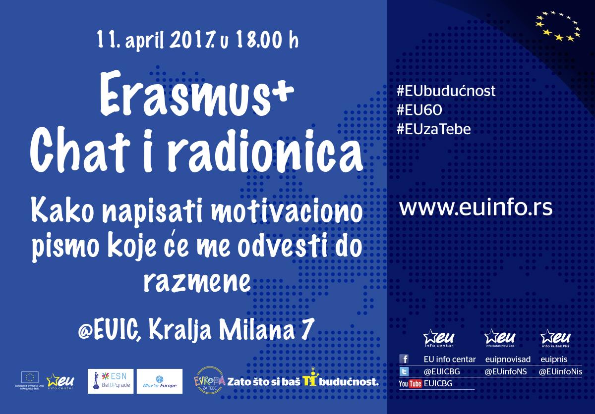 Erasmus+ chat i radionica