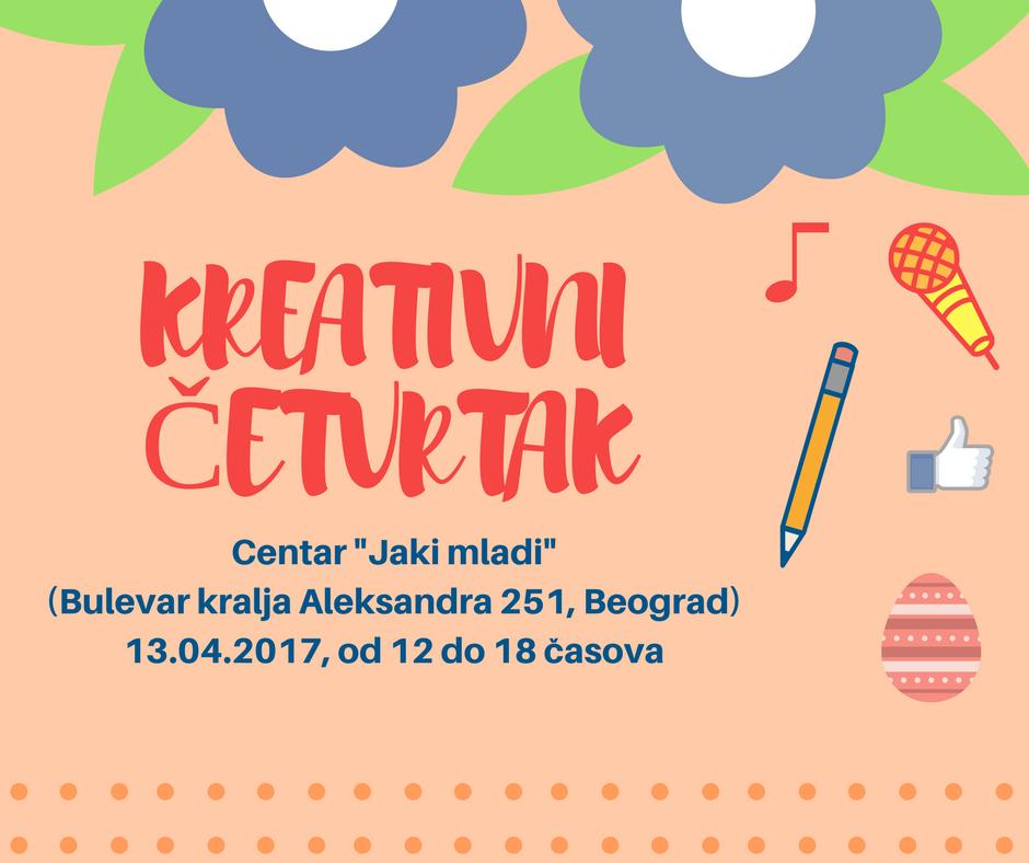 Kreativni četvrtak Jaki mladi