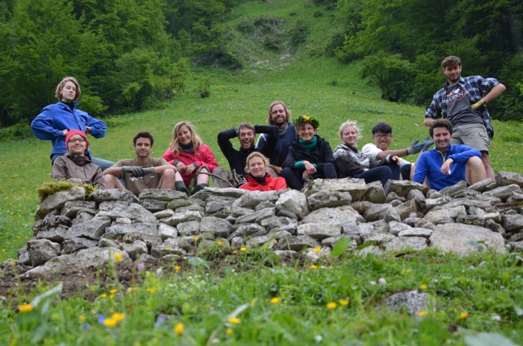 PEACE CAMP WALDHÜTTL u Inzbruku, Austriji